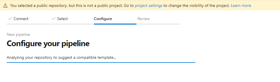 Azure Configure Pipeline