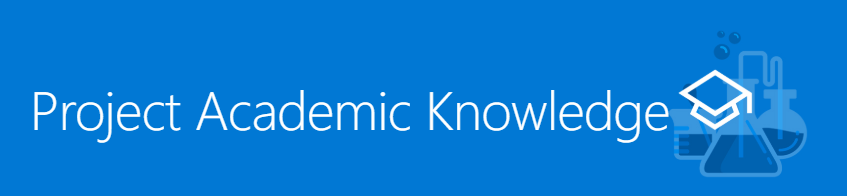 Cognitive Services Labs: Academic Knowladge